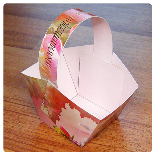 Как сделать из бумаги корзинки